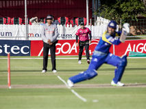 Momentum One Day Cup. The Momentum one day Cup played at St Georges Park in Port Elizabeth South Africa between Chevrolet Warriors and Nashua Mobile Cape Cobras stock photography