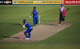 Momentum One Day Cup. The Momentum one day Cup played at St Georges Park in Port Elizabeth South Africa between Chevrolet Warriors and Nashua Mobile Cape Cobras stock images