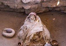 momia Foto de archivo