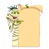 Momia de Halloween Fotos de archivo