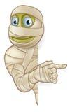 Momia de Halloween de la historieta Fotos de archivo libres de regalías