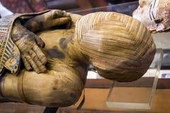 Momia de un hombre imagen de archivo