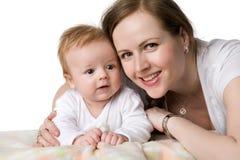 Momie avec l'enfant en bas âge Photographie stock libre de droits