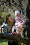 Momie et descendant Images libres de droits