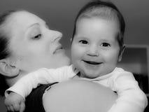 Momie et fils Photographie stock libre de droits