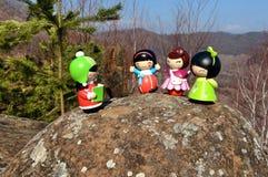 Momiji-Puppen Lizenzfreie Stockbilder