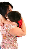Momma Hugs Royalty Free Stock Photos
