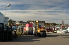 Mommark havn στοκ φωτογραφίες