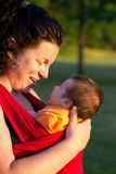 Mommy and Baby Stock Photography