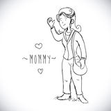 Mommy design Stock Photos