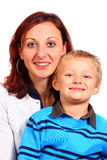 Mommy And Her Son Stock Photography