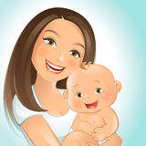 Mommy and I Royalty Free Stock Photo
