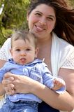 Mommy and me Stock Photography