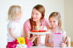 Mommy's birthday Stock Image
