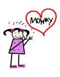 Mommy's Girl Stock Images