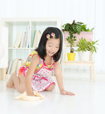 Mommy's little helper Stock Photography