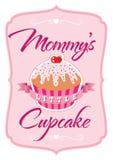 Mommys一点杯形蛋糕T恤杉 库存照片