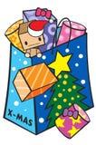 MoMo Xmas01 Imagenes de archivo