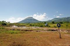 Momotombo volcano Nicaragua Royalty Free Stock Image