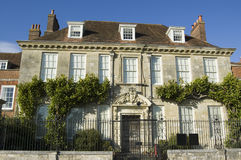Mompesson hus, Salisbury Royaltyfri Foto