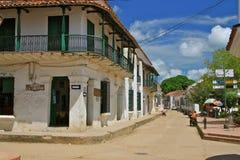 Mompos gata, Colombia royaltyfri fotografi