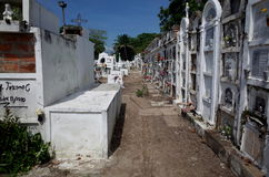 Mompox公墓 免版税库存图片