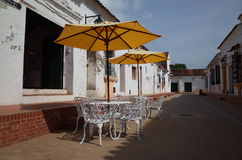 Mompox咖啡馆 库存照片