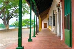 Mompox, architecture de la Colombie Photos stock