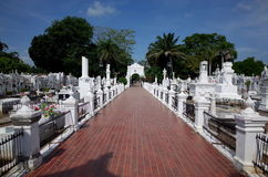 Mompox Cemetery. The old colonial cemetery in Mompox, Colombia Stock Image