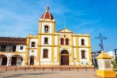 Mompox-Kirche lizenzfreie stockfotos