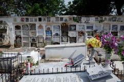 Mompoxbegraafplaats royalty-vrije stock fotografie
