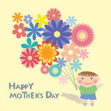 Moms day Stock Image