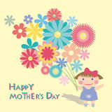 Moms day Royalty Free Stock Images