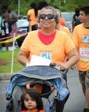 Moms' Run 5K run. Royalty Free Stock Photos