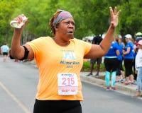 Moms' Run 5K run. Stock Photos