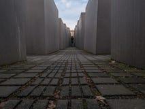 Momument aan Moorde Joden van Europa in Berlijn, Duitsland stock afbeeldingen