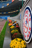 Momument Park. At Yankee Stadium in the the Stadium's final season Royalty Free Stock Images