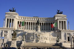 Momument to Victor Emanuelle II, Rome, Italy Stock Photos