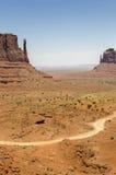 Monólito no vale do monumento Imagem de Stock