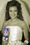 Mon épouse douce Photo stock