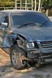 Mon accident de voiture Images stock