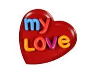 Mon amour Photographie stock libre de droits