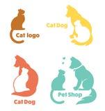 mon animal familier préféré, collection de vecteur des symboles d'animaux Photographie stock libre de droits