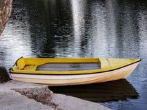 Mon bateau jaune Photographie stock libre de droits