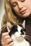 Mon beau chat Images libres de droits