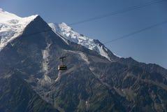 MOn Blanc massif Royalty Free Stock Image