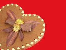 Mon cadre en forme de coeur de Valentine Photo libre de droits