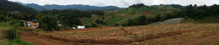 Mon Cham Panoramiczny widok Zdjęcie Stock