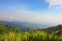 Mon Cham View Point  Chiang Mai, Thailand, Natural Background Stock Image