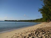 Mon Choisy Beach Stock Image